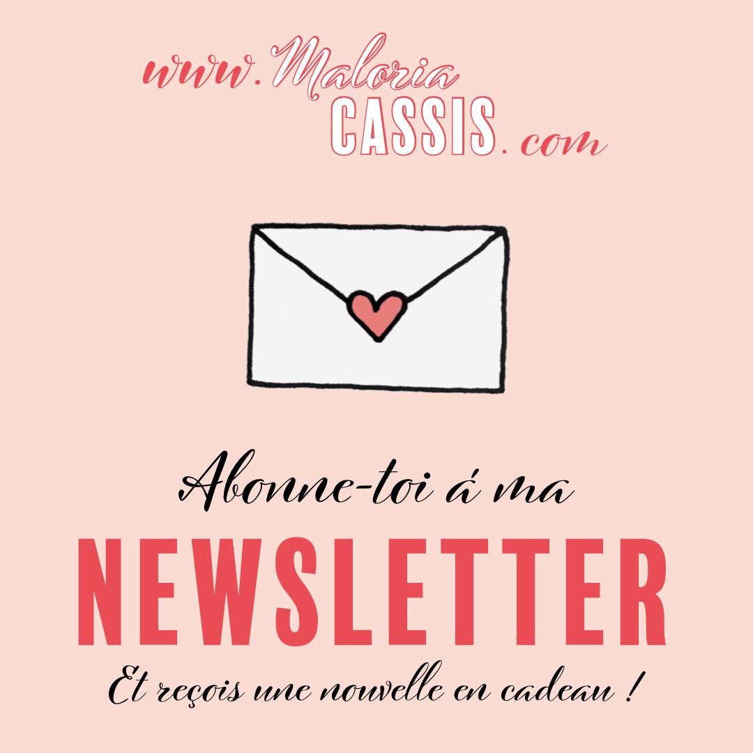 inscription newsletter maloria cassis